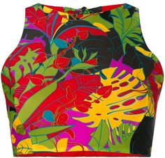 2cbcb6b008694 Mod Flower Power Chiffon Top by Gail Sarasohn for Redbubble.com ...