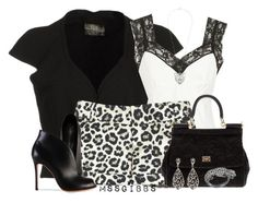 Lacey Leopard by mssgibbs on Polyvore featuring polyvore fashion style Marc Jacobs Roberta Furlanetto Alice + Olivia Gianvito Rossi Dolce&Gabbana Amrita Singh Rosie Fox TALLY WEiJL women's clothing women's fashion women female woman misses juniors