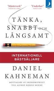 http://www.adlibris.com/se/product.aspx?isbn=917503249X | Titel: Tänka, snabbt och långsamt - Författare: Daniel Kahneman - ISBN: 917503249X - Pris: 93 kr