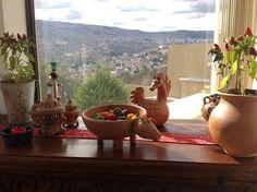 locotos y cerámica andina