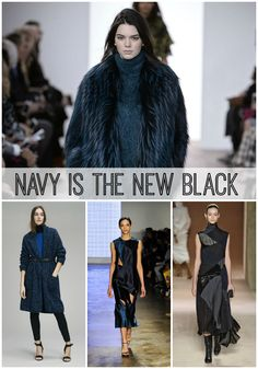 73e28f8f8af Look out! Navy blue is the new black and a MUST for your fall wardrobe
