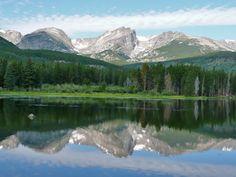 Photos of Sprague Lake, Colorado | ProTrails | Sprague Lake Nature Loop, Sprague Lake Trailhead and ...