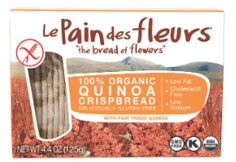 *NEW PRODUCT/ PRODUCER* These Quinoa Crispbreads from #LePaindesFleurs are reminiscent of the Bolivian peaks from where our Quinoa is grown.  Elevate your tastebuds with the highest Quinoa content of any crispbread/cracker available.  Made with 100% Organic Ingredients and Fair Trade Quinoa in a dedicated gluten free factory. There are three flavors: quinoa, chestnut, and buckwheat. All are awesome.