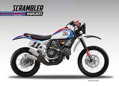 Un abbinamento di assoluto prestigio quello che avverrebbe tra il brand SCRAMBLER di Ducati e MARTINI RACING, sponsor in passato di nomi i...