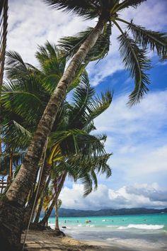 Um pouco de paraíso. Ilha de Boracay, Filipinas.  Fotografia: M. Villamin.