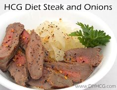 HCG Diet Steak and Onions check it out here...www.diyhcg.com