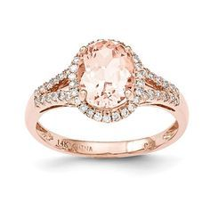 Material: 14k Rose Gold (solid) - Average Weight: 2.47gm - Open Back Stone Type: Diamond Stone Creation Method: Natural Stone Treatment: Heating Stone Shape: Round Stone Color: White Stone Size: 1 mm