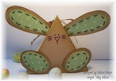 triangle bunny