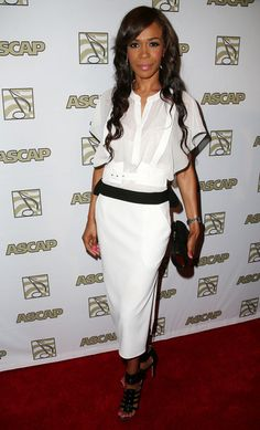 Michelle Williams at the ASCAP Rhythm & Soul Music Awards