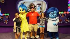 How to meet Joy and Sadness from Inside Out in Walt Disney World.