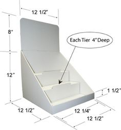 Item 8031 Cardboard Display Shop Stands Soap Candy