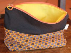 Make-up bag Cosmetic bag Purse organizer by KennaInAfrica Purse Organization, African Fabric, Organizers, Cosmetic Bag, Clutch Bag, Purses And Bags, Sunglasses Case, Just For You, Cosmetics