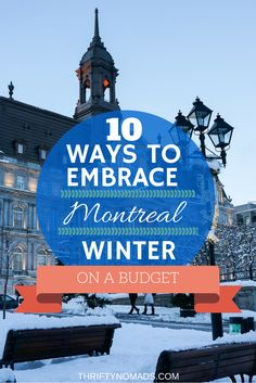 Cat cafes, organized snowball fights, maple taffy on snow.. here's 10 great budget activities for Montreal in wintertime!