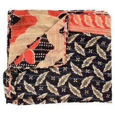 Vintage Anadolu Kantha Quilt IV  It was made for me.
