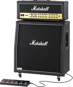 Marshall JVM410H and 1960AV 100 Watt All-Tube Guitar Half Stack