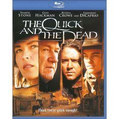 The quick and the dead Pat Hingle, Leonardo Dicaprio Movies, Lance Henriksen, David Keith, Sam Raimi, Russell Crowe, Quick Draw, Revenge