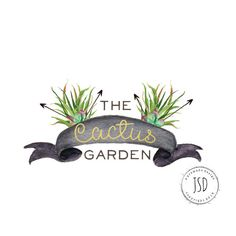 Cactus Logo-Succulent logo-Arrow by JupiterStreetDesigns on Etsy Arrow Logo, Logo Design, Graphic Design, Cactus Art, Logos, Logo Inspiration, Diy And Crafts, Artsy, Investors