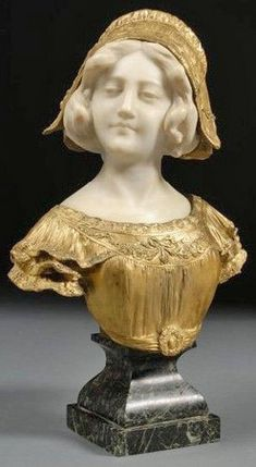 sculpture by Affortunato Gory (Italian, flourished 1895 to 1925), Bust ...