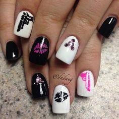 badass nail art
