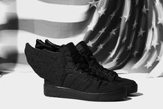new style 47777 7e904 adidas Originals x Jeremy Scott x A AP Rocky JS WINGS 2.0 BLACK FLAG
