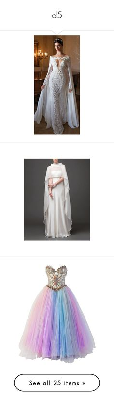 """""""d5"""" by darkskinqueen ❤ liked on Polyvore featuring dresses, sexy dresses, longsleeve dress, long sleeve dress, sexy long sleeve dresses, gowns, gown, multiple, couture evening gowns and couture gowns"""