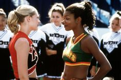 Kirsten Dunst, Gabrielle Union, Eliza Dushku and Jesse Bradford discussed the hit cheerleading movie with Billy Bush. Bring It On Cast, Bring It On Musical, Cheer Movies, Movie Photo, Movie Tv, Movies To Watch, Good Movies, Iconic Movies, Awesome Movies