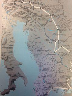 Munchen 1972 map