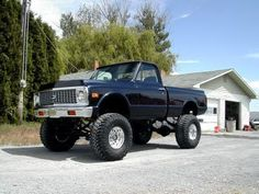 71 Chevy truck | Lifted Chevy