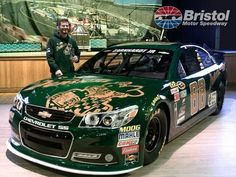 unveiled a new paint scheme on Wednesday. Junior will drive the No. 88 DEWShine Chevy at Bristol Motor Speedway. Nascar Shop, Nascar Race Cars, Dale Earnhardt Crash, Darrell Wallace Jr, Bristol Cars, Bristol Motor Speedway, Martin Truex Jr, Racing News, Auto Racing