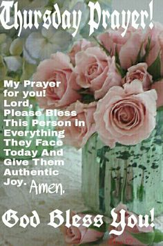 Thursday Blessings Pictures, Photos, and Images for ...  |Thursday Prayers From The Heart