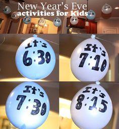 Ideen für Silvester mit Kindern