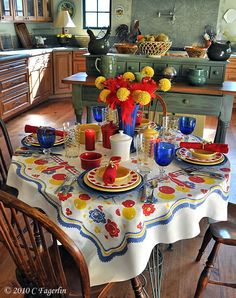 The Little Round Table: Primary Colors .... A Tale of Two Parties