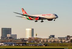 Kenya Airways 5Y-KZE aircraft at Amsterdam - Schiphol photo