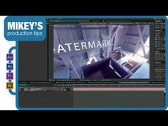 (8) How to add effects in 360 degree video with After Effects - YouTube