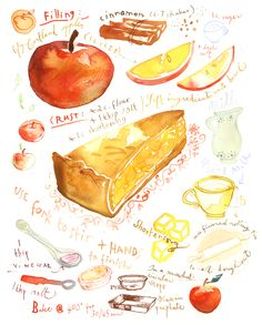lucile's kitchen: Waiting for the U.S. president, Apple pie recipe