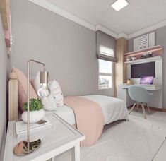 Girls Bedroom Ideas 8 Year Old Small ; Girls Bedroom Ideas 8 Year Old Room Makeover, Bedroom Makeover, Bedroom Drapes, Bedroom Diy, Small Bedroom, Bedroom Decor, Girl Bedroom Decor, Trendy Bedroom, Dream Rooms