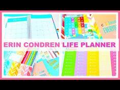 NEW 2015-16 Erin Condren Life Planner Unboxing!!! - YouTube
