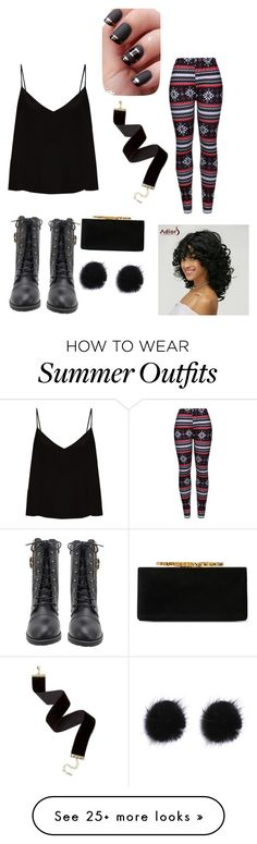 """""""Summer outfit"""" by aamiyah on Polyvore featuring Raey, WithChic and Jimmy Choo"""