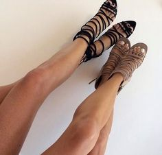 Sisters in everything, even shoe taste. #twinning #shoes #shopstyle