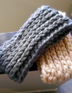 Chunky Crochet Ear Warmer Pattern by MYandGG