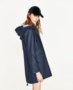 Image 3 of WATER REPELLENT PARKA from Zara