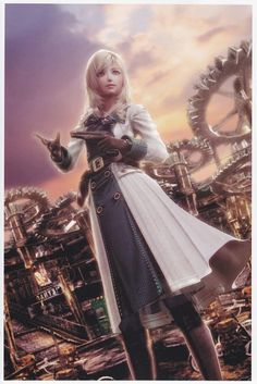 Leanne (Resonance of Fate: End of Eternity)