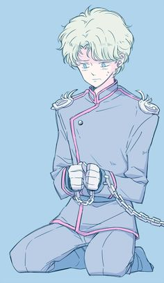 Jadeite (#Shitennou #Dark Kingdom #Sailor Villains)