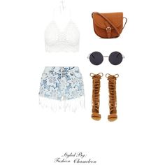 Summer Lovin' by fashionchameleont on Polyvore featuring polyvore, fashion, style, Parisian and Free People