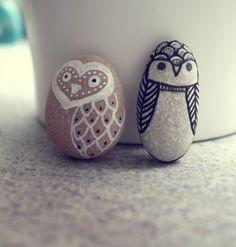 owl rock art
