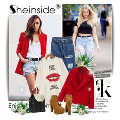 """sheinside fashion"" by sheinside ❤ liked on Polyvore featuring Danielle Nicole"