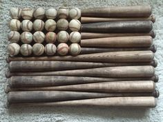 Large Baseball Bat Flag by BlakewoodBarn on Etsy