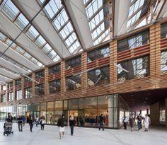 """Groupe-6 — """"La Caserne de Bonne """", multifonctionnal centre — Image 5 of 6 - Europaconcorsi"""