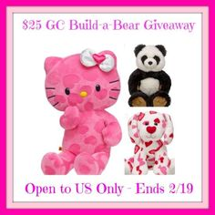 ****Win a $25.00 Build-A-Bear Gift Card!**** Ends 02/19/14! - Krazy Coupon Club