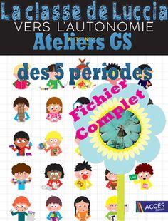 ATELIERS Vers l'autonomie Récap' - La classe de Luccia ! Back To School, Classroom, Teacher, How To Plan, Education, Math, Kids, Cycle 1, Grande Section